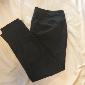 Lane Bryant 24L Allie Gray Straight leg dress pant